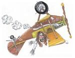 Hands Free Biplane