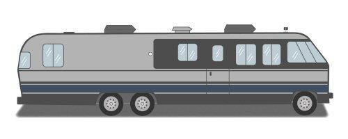 Classic Airstream Motor Homes