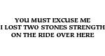 2 Stones Strength