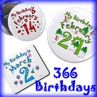 366 Birthdays