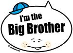 I'm the Big Brother Quote Bubbles