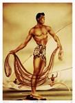 'Hawaiian Fisherman'