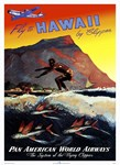 'Fly to Hawaii by Clipper'