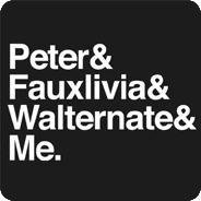 Peter & Fauxlivia & Walternate & Me.