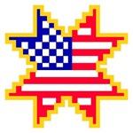 Americana Flag Star