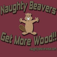 Naughty Beavers Get More Wood!!