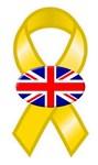 Union Jack Yellow Ribbon