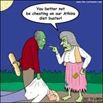 Zombie Atkins Diet