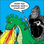 Godzilla Breath Mint