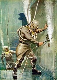 Salvage Divers Welding