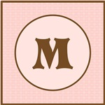 Pink Chocolate Monogram
