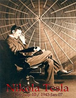 Nikola Tesla & Coil