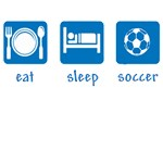 eat drink soccer