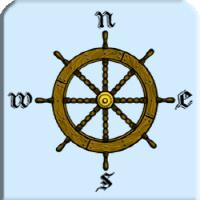 Captain Ship Steering Wheel