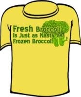 Fresh Broccoli is Just As Nasty As Frozen Broccoli