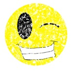 Vintage Winking Smiley 2