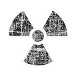 Vintage Radioactive Symbol 1