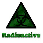 Green Radioactive Sign
