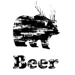 Vintage Beer Bear Deer 2