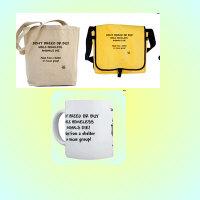 Cat Mugs- Cat Tote Bag-Messenger Bags