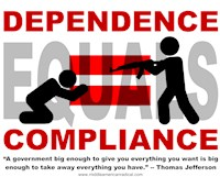 Dependence Equals Compliance