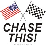 AMERICAN & CHECKERED FLAG<br />LARGE CHASE THIS!