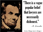 Lawyers are Necessarily Dishonest