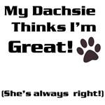 Me n' my Dachsie