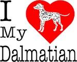 I Love My Dalmatian