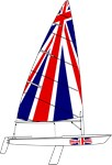 UK Britain Dinghy Sailing