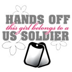 Hands off! This Girl belongs to a Soldier