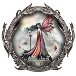 Autumn Winds Gothic Fairy Fantasy Art