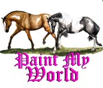 Paint horses, Paint My World