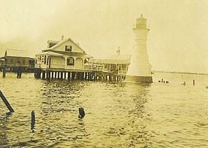 1920s Milneburg Lighthouse