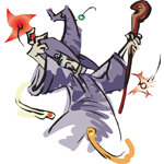 Wizard T-shirt, Wizard T-shirts, Wizard Gifts