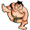 Sumo Wrestler T-shirt & Gift