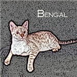 Bengal Cat Art