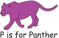 P is for Panther