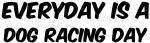 Dog Racing everyday
