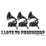 I love to Phonoshop
