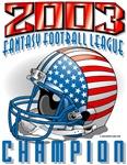 2003 FFL Champion Helmet