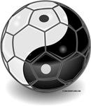 Ying Yang Soccer Ball