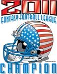 2011 FFL Champion Helmet