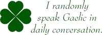 Random Gaelic