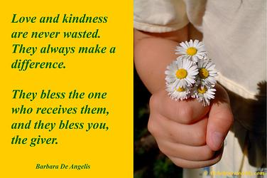 Kindness Blesses