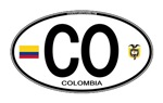 Colombia Euro Oval
