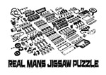 REAL MANS JIGSAW PUZZLE