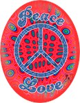 Peace, Love, Flower Power 60s