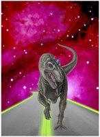 Cosmic T-Rex by Marc Brinkerhoff