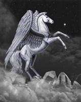 Pegasus rearing by Marc Brinkerhoff.
